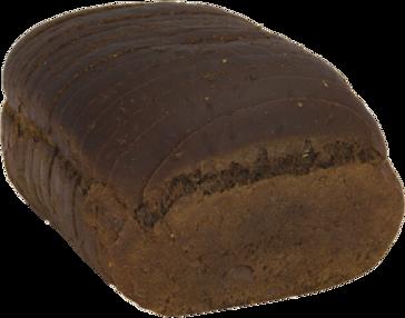 Pumpernickel Jewish Rye Naked Bread Loaf