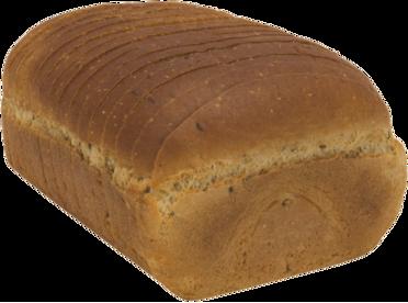Seeded Jewish Rye Naked Bread Loaf