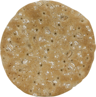 Honey Wheat Sandwich Thins Top of Roll Image