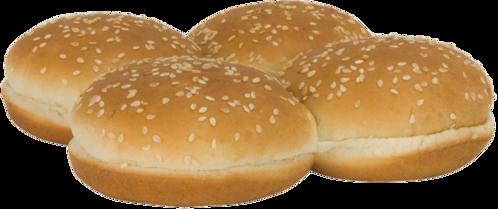 Potato Sandwich Buns Top of Buns Image