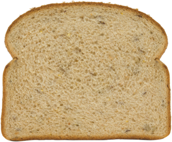 12 Grain Bread Slice Image