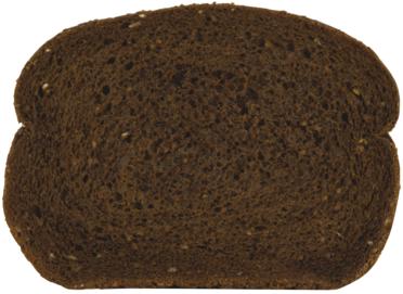 Pumpernickel Jewish Rye Bread Slice