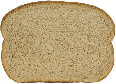 Seedless Jewish Rye Bread Slice Image