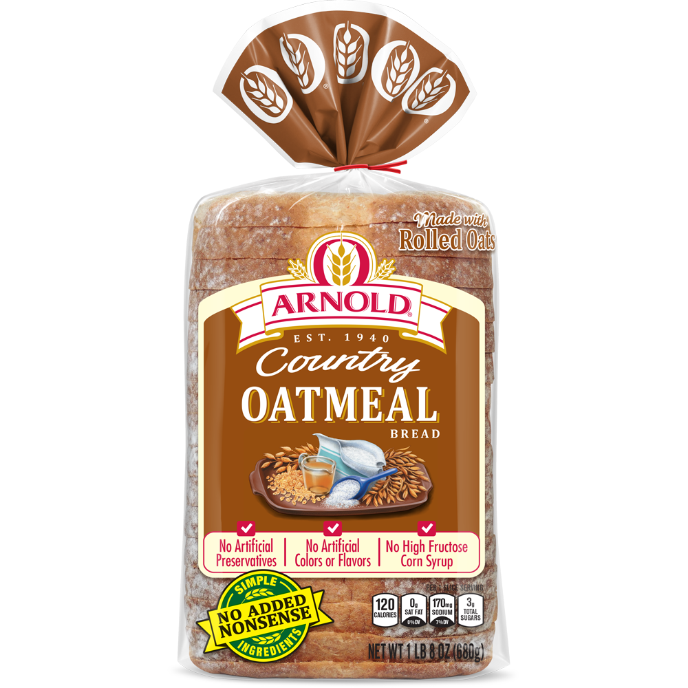 Arnold Oatmeal Bread Package