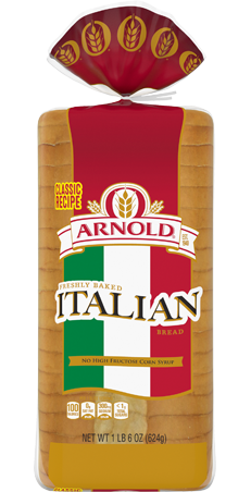 Arnold Italian Bread 22oz Packaging