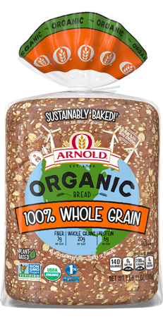 Arnold 100% Whole Grain Bread Package