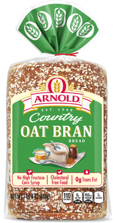 Arnold Oat Bran Bread Package Image