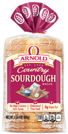 Arnold Sourdough Bread Package Image