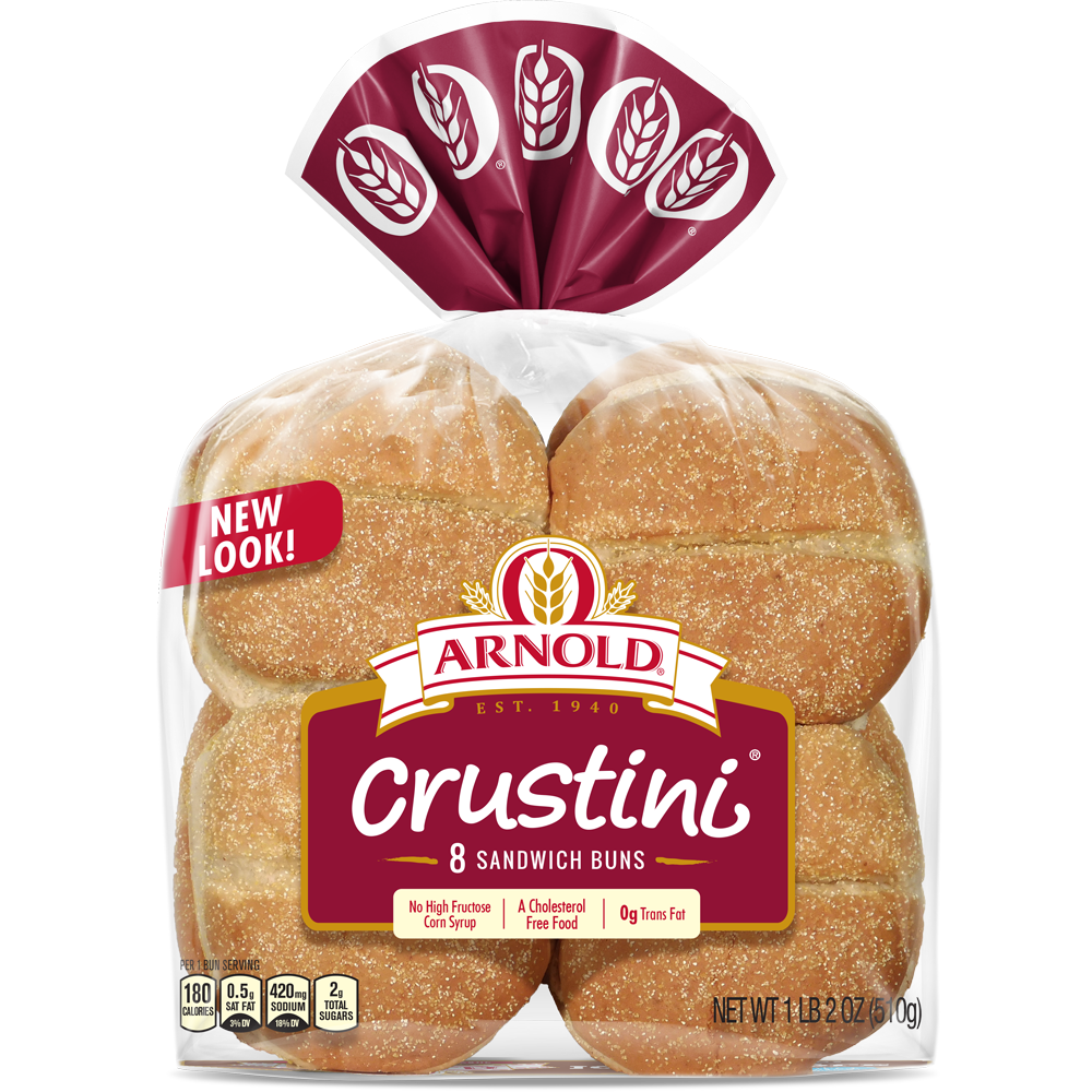 Arnold Crustini Buns Package Image