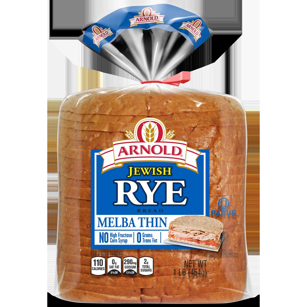 Arnold Melba Thin Jewish Rye Package