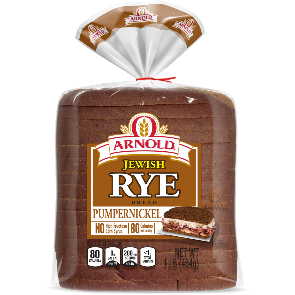 Arnold Pumpernickel Jewish Rye Bread Package Image