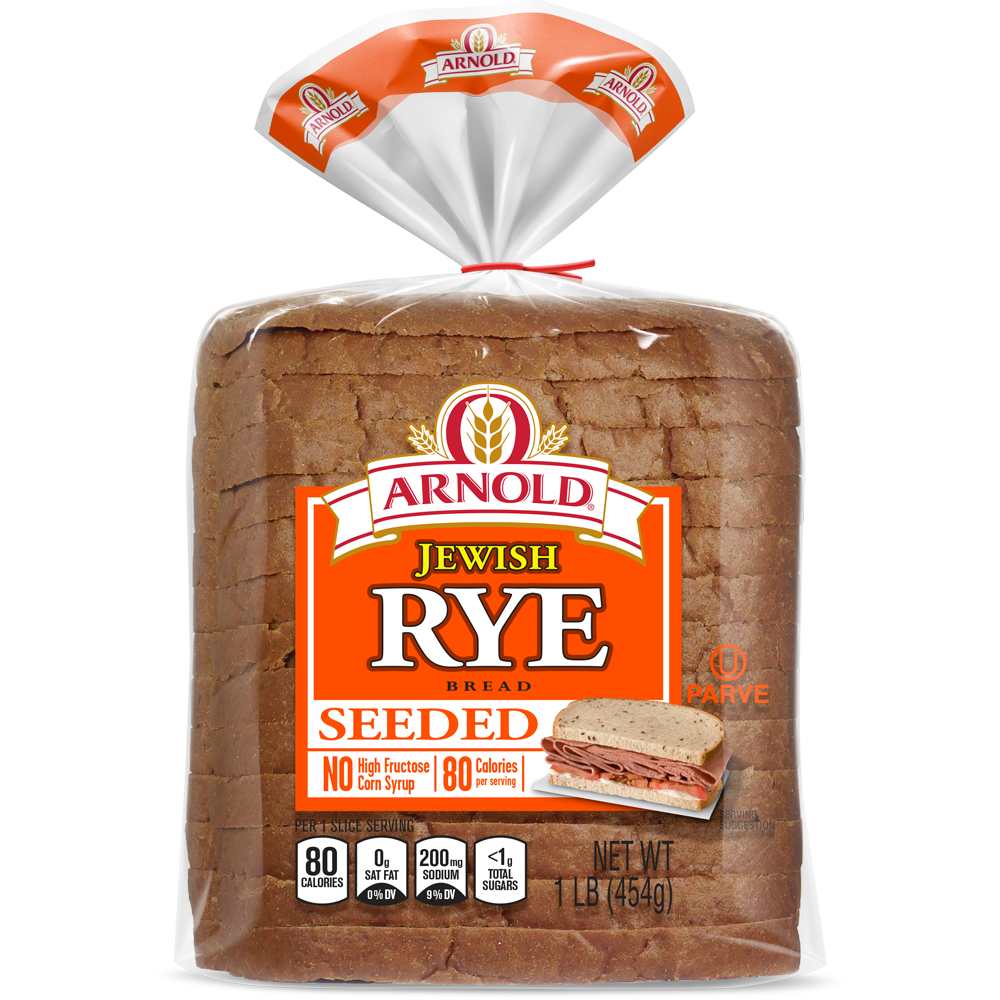 Arnold Seeded Jewish Rye Bread Package
