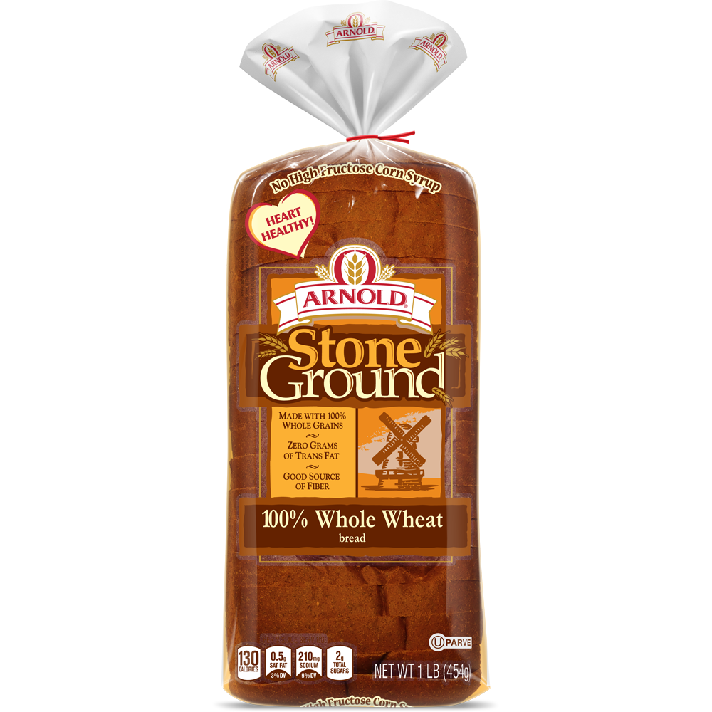 Arnold Stone Ground 100% Whole Wheat Package Image