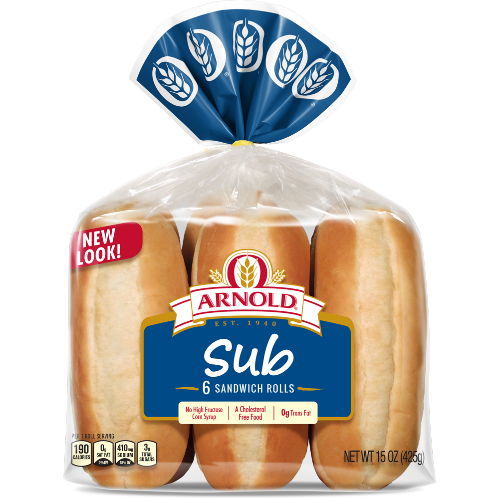 Arnold Sub Rolls Package Image