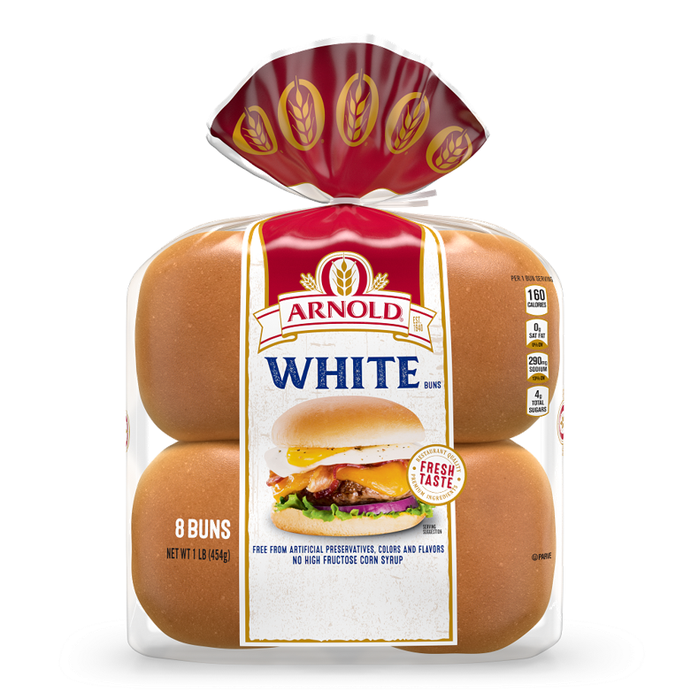 Arnold White Sandwich Buns Package