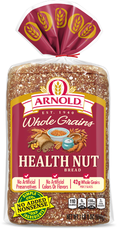 Arnold Health Nut Bread Package