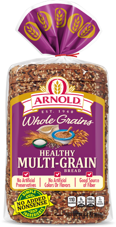 Arnold Healthy Multi-grain Bread Package Image