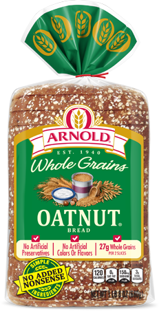 Arnold Oatnut Bread Package Image