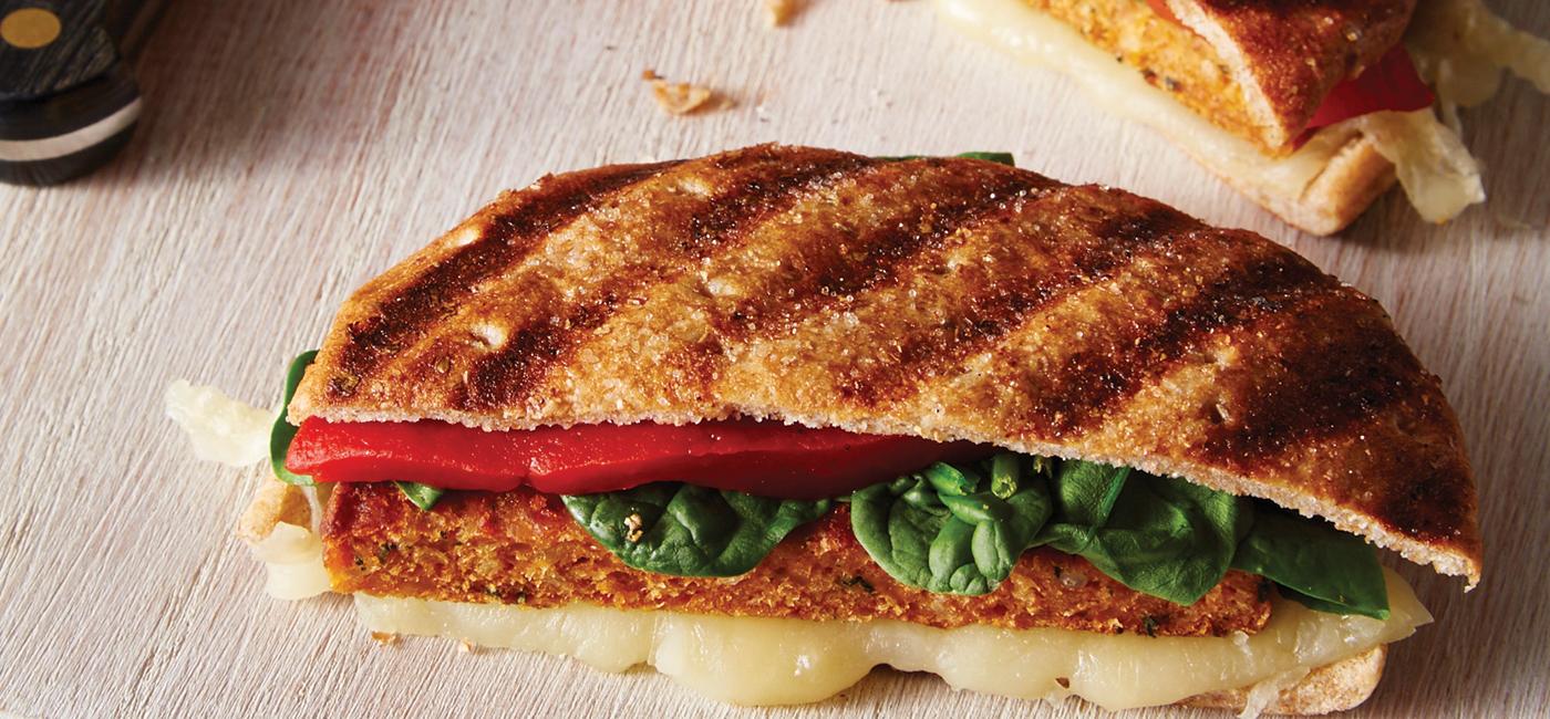 Bruschetta Panini Recipe Image