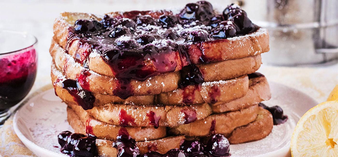 Blueberry Lemon French Toast Recipe Image