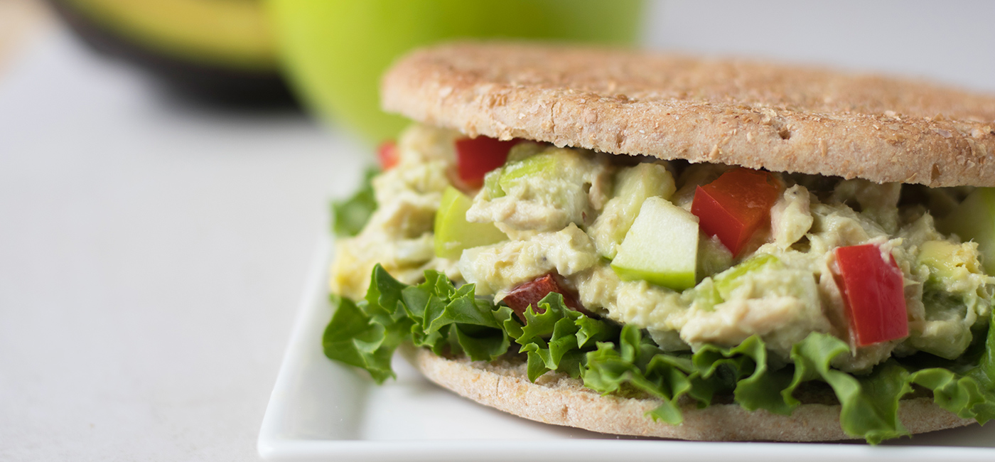 Summer Tuna Salad Sandwich Recipe Image