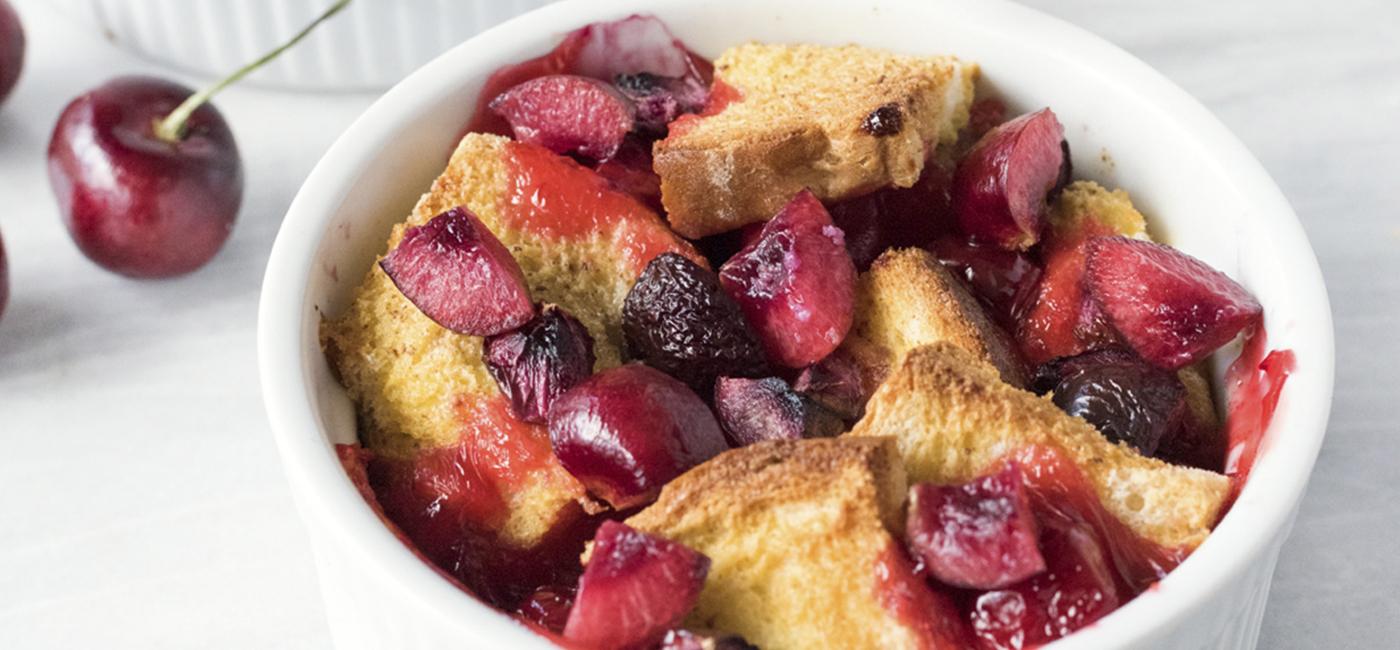 Cherry French Toast Bake Recipe Image