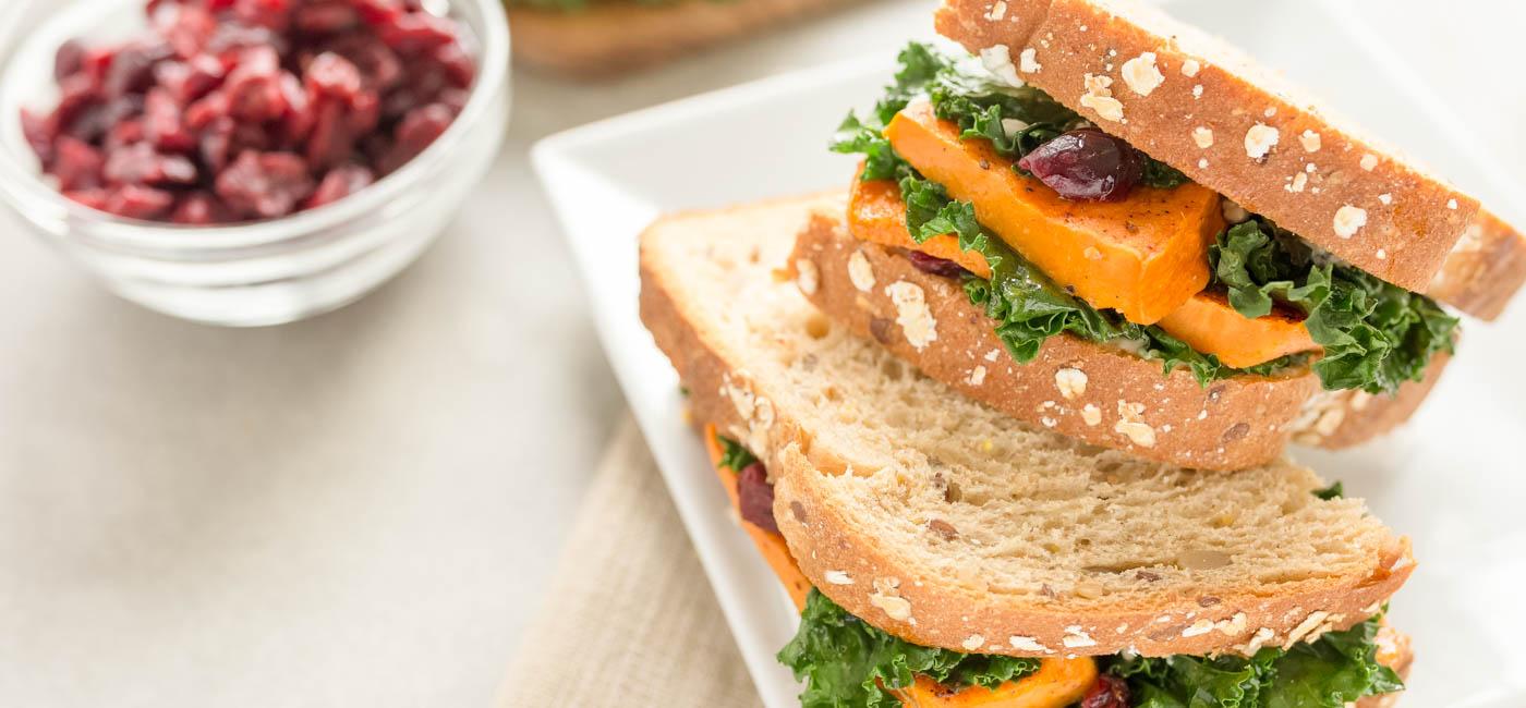 Savory Sweet Potato Sandwich  - Recipe Image