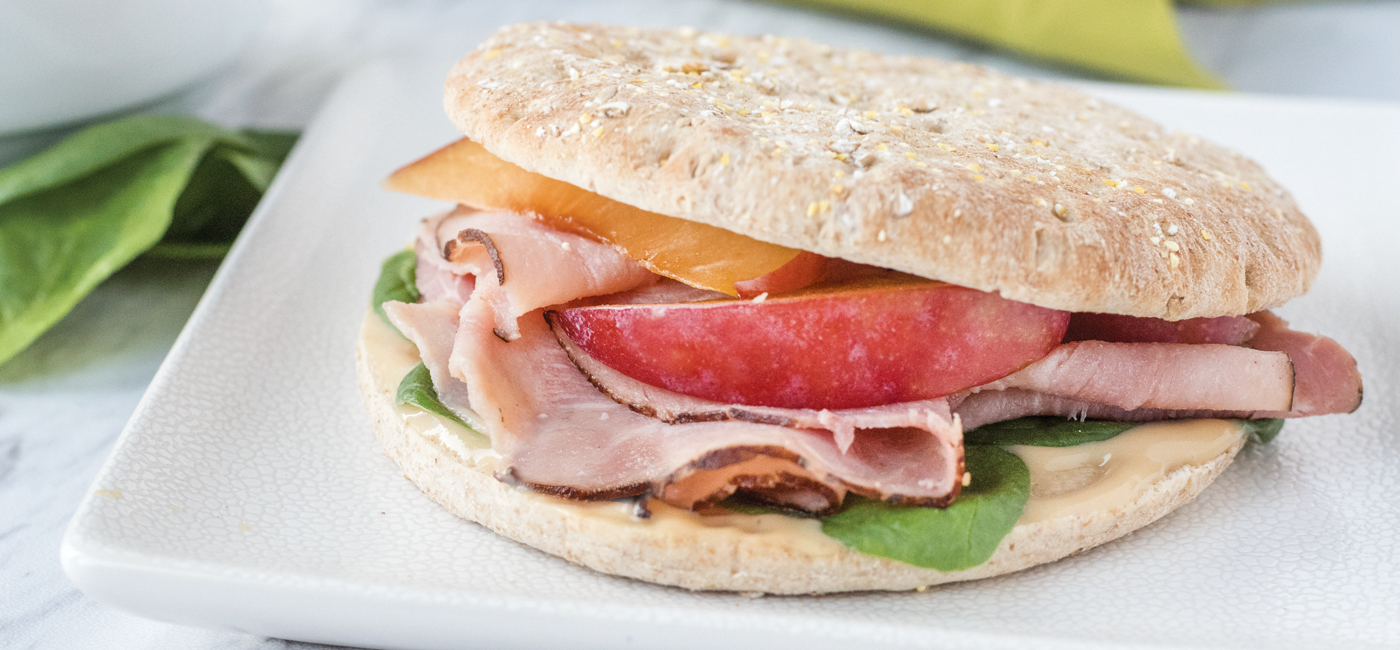 Ham & Plum Sandwich Recipe Image
