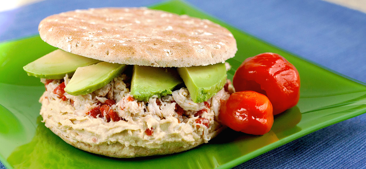 Pacific Crab Sandwich - Recipe Image
