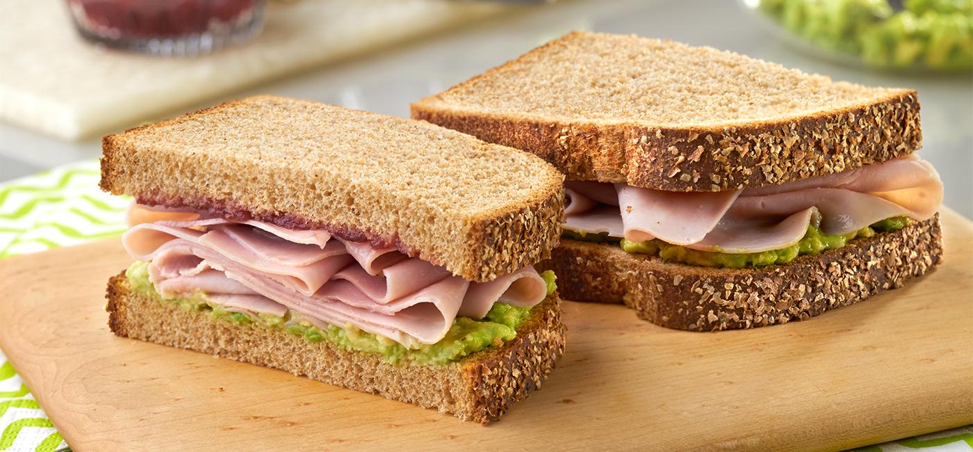Festive Cranberry & Avocado Sandwich Recipe Image