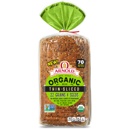 Thin-Sliced 22 Grains & Seeds